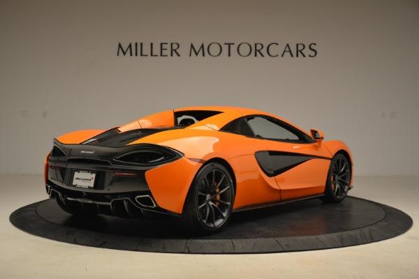 Used 2018 McLaren 570S Spider Convertible for sale Sold at Alfa Romeo of Westport in Westport CT 06880 19