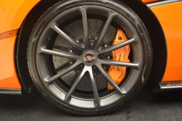 Used 2018 McLaren 570S Spider Convertible for sale Sold at Alfa Romeo of Westport in Westport CT 06880 23