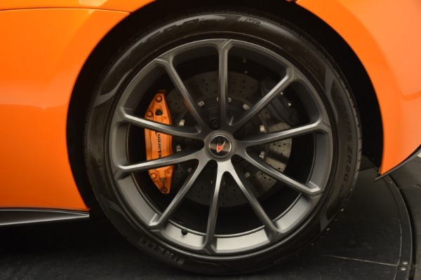 Used 2018 McLaren 570S Spider Convertible for sale Sold at Alfa Romeo of Westport in Westport CT 06880 24