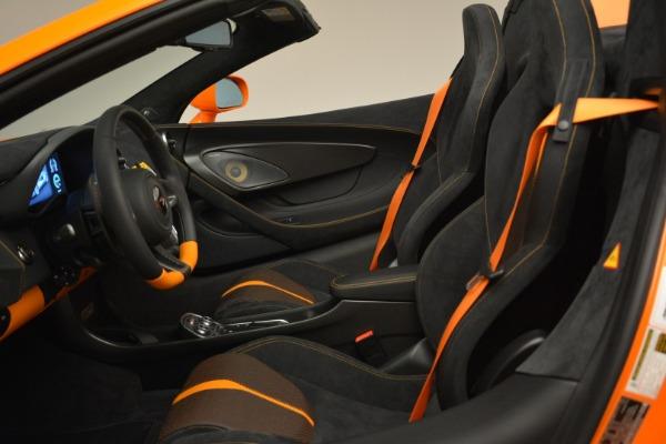 Used 2018 McLaren 570S Spider Convertible for sale Sold at Alfa Romeo of Westport in Westport CT 06880 26