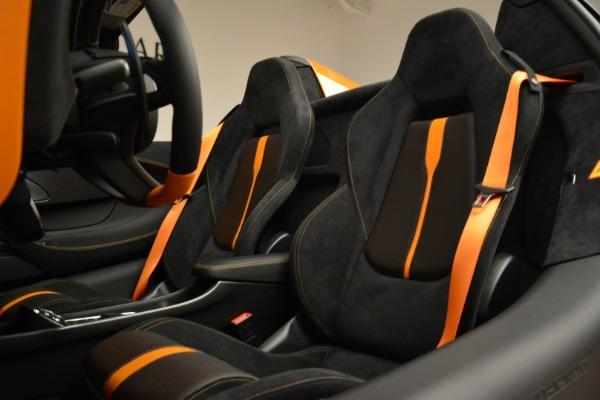 Used 2018 McLaren 570S Spider Convertible for sale Sold at Alfa Romeo of Westport in Westport CT 06880 27