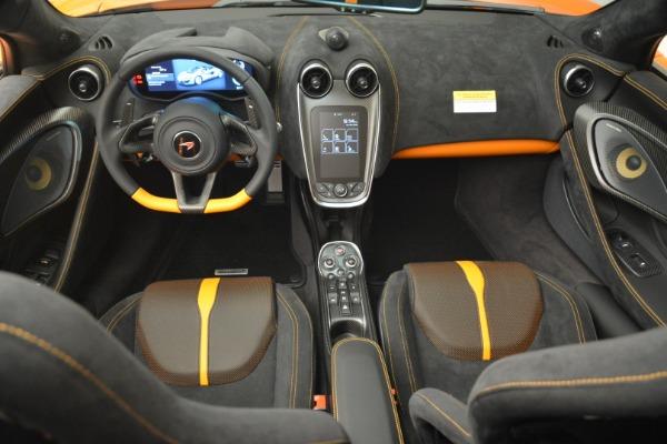 Used 2018 McLaren 570S Spider Convertible for sale Sold at Alfa Romeo of Westport in Westport CT 06880 28