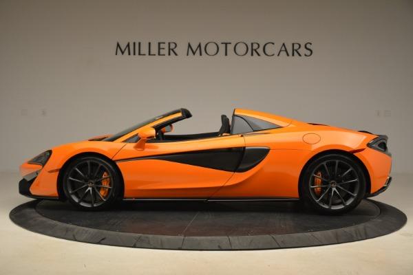 Used 2018 McLaren 570S Spider Convertible for sale Sold at Alfa Romeo of Westport in Westport CT 06880 3