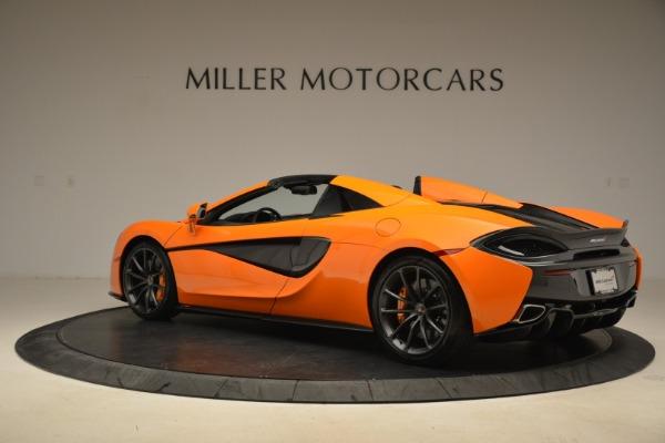 Used 2018 McLaren 570S Spider Convertible for sale Sold at Alfa Romeo of Westport in Westport CT 06880 4