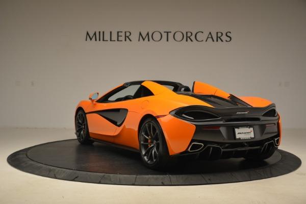 Used 2018 McLaren 570S Spider Convertible for sale Sold at Alfa Romeo of Westport in Westport CT 06880 5