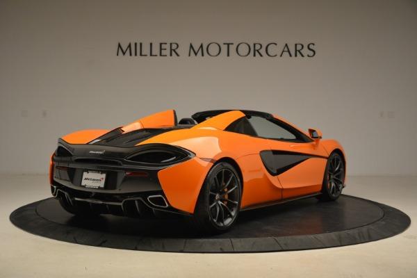 Used 2018 McLaren 570S Spider Convertible for sale Sold at Alfa Romeo of Westport in Westport CT 06880 7