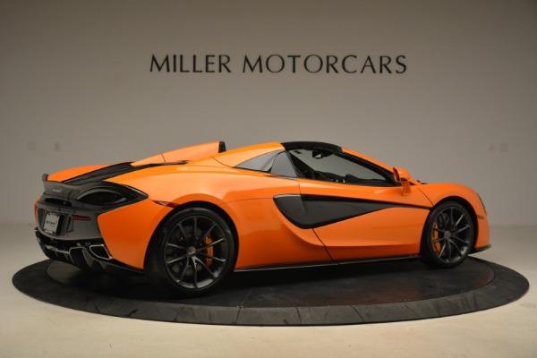 Used 2018 McLaren 570S Spider Convertible for sale Sold at Alfa Romeo of Westport in Westport CT 06880 8