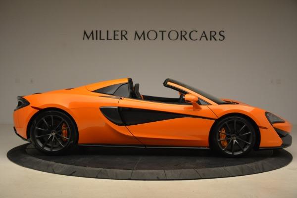 Used 2018 McLaren 570S Spider Convertible for sale Sold at Alfa Romeo of Westport in Westport CT 06880 9