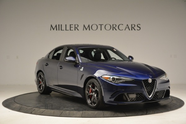 New 2018 Alfa Romeo Giulia Quadrifoglio for sale Sold at Alfa Romeo of Westport in Westport CT 06880 11