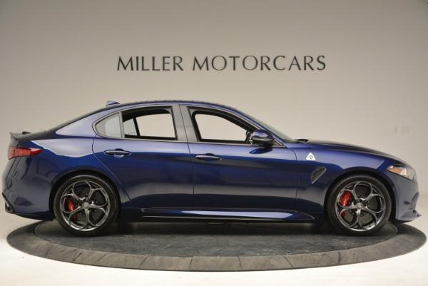 New 2018 Alfa Romeo Giulia Quadrifoglio for sale Sold at Alfa Romeo of Westport in Westport CT 06880 9