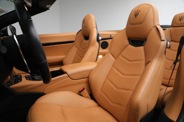 New 2018 Maserati GranTurismo Sport Convertible for sale Sold at Alfa Romeo of Westport in Westport CT 06880 25