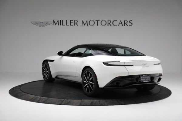 New 2018 Aston Martin DB11 V8 Coupe for sale Sold at Alfa Romeo of Westport in Westport CT 06880 4