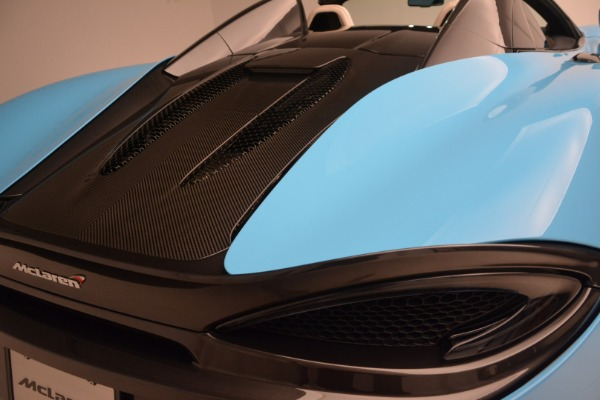 Used 2018 McLaren 570S Spider for sale Sold at Alfa Romeo of Westport in Westport CT 06880 24