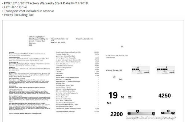 Used 2018 McLaren 570S Spider for sale Sold at Alfa Romeo of Westport in Westport CT 06880 27