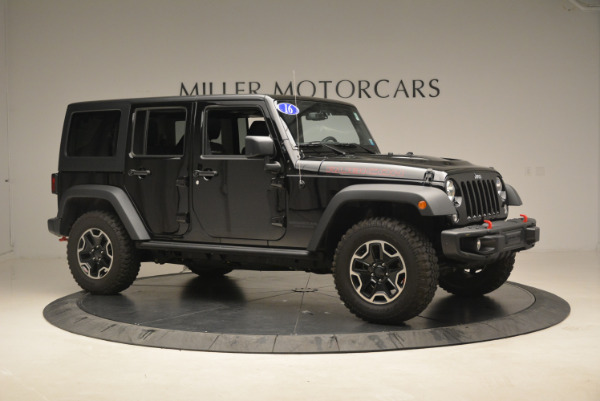 Used 2016 Jeep Wrangler Unlimited Rubicon for sale Sold at Alfa Romeo of Westport in Westport CT 06880 10