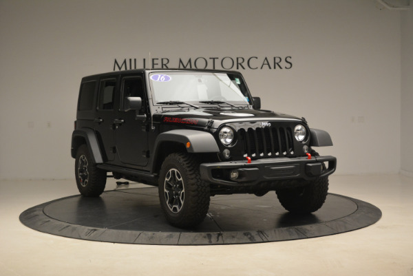 Used 2016 Jeep Wrangler Unlimited Rubicon for sale Sold at Alfa Romeo of Westport in Westport CT 06880 11