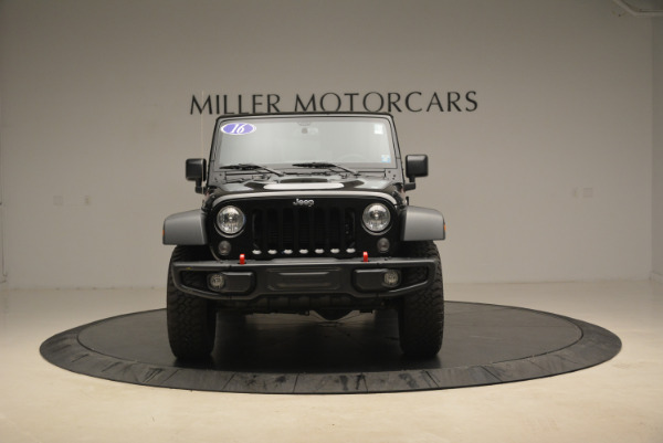 Used 2016 Jeep Wrangler Unlimited Rubicon for sale Sold at Alfa Romeo of Westport in Westport CT 06880 12