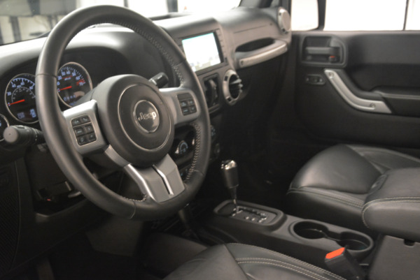 Used 2016 Jeep Wrangler Unlimited Rubicon for sale Sold at Alfa Romeo of Westport in Westport CT 06880 13