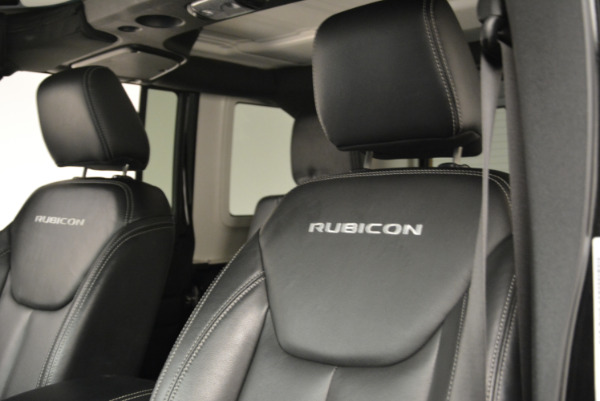 Used 2016 Jeep Wrangler Unlimited Rubicon for sale Sold at Alfa Romeo of Westport in Westport CT 06880 15