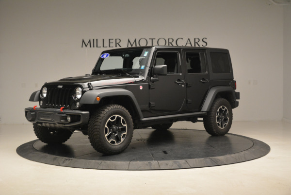 Used 2016 Jeep Wrangler Unlimited Rubicon for sale Sold at Alfa Romeo of Westport in Westport CT 06880 2