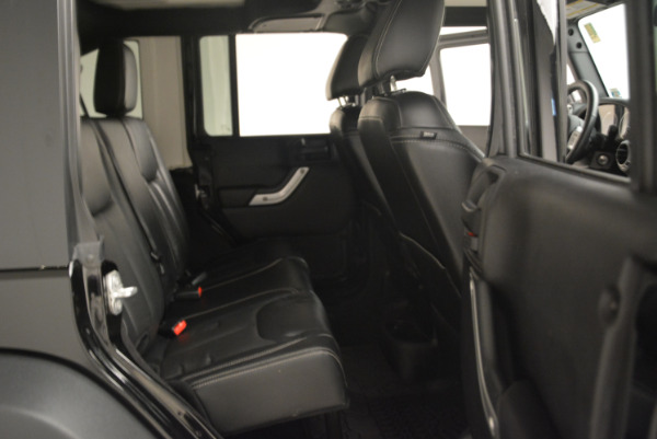 Used 2016 Jeep Wrangler Unlimited Rubicon for sale Sold at Alfa Romeo of Westport in Westport CT 06880 22