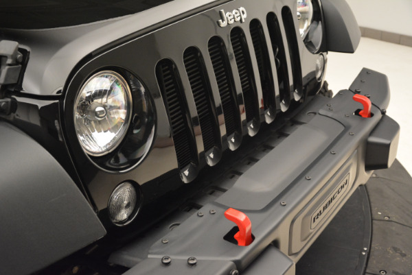 Used 2016 Jeep Wrangler Unlimited Rubicon for sale Sold at Alfa Romeo of Westport in Westport CT 06880 23