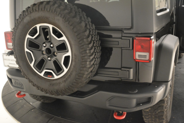 Used 2016 Jeep Wrangler Unlimited Rubicon for sale Sold at Alfa Romeo of Westport in Westport CT 06880 24