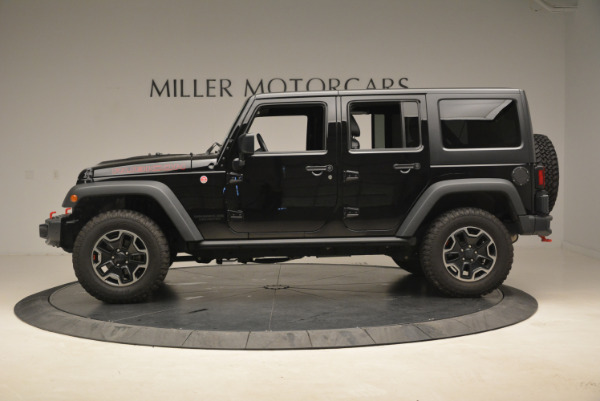 Used 2016 Jeep Wrangler Unlimited Rubicon for sale Sold at Alfa Romeo of Westport in Westport CT 06880 3