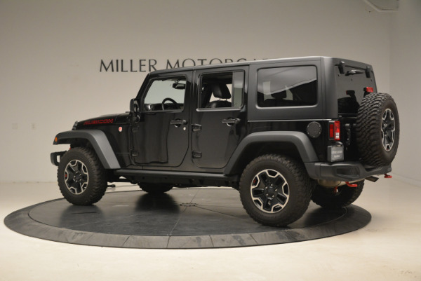 Used 2016 Jeep Wrangler Unlimited Rubicon for sale Sold at Alfa Romeo of Westport in Westport CT 06880 4