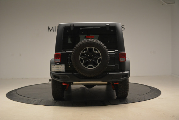 Used 2016 Jeep Wrangler Unlimited Rubicon for sale Sold at Alfa Romeo of Westport in Westport CT 06880 6