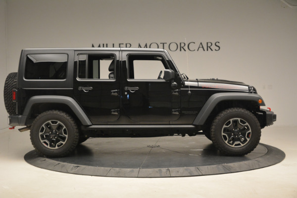 Used 2016 Jeep Wrangler Unlimited Rubicon for sale Sold at Alfa Romeo of Westport in Westport CT 06880 9
