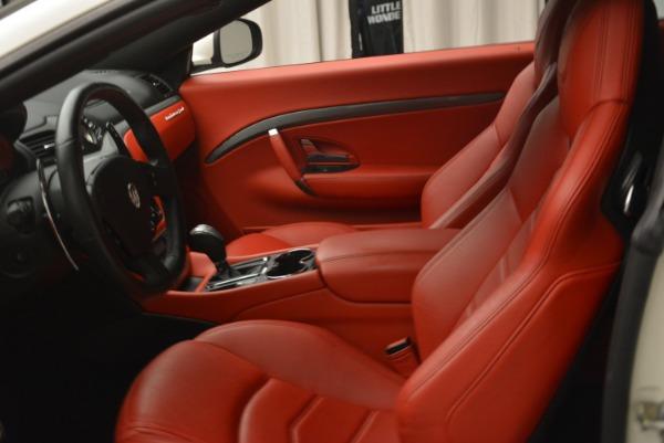 Used 2015 Maserati GranTurismo Sport for sale Sold at Alfa Romeo of Westport in Westport CT 06880 14