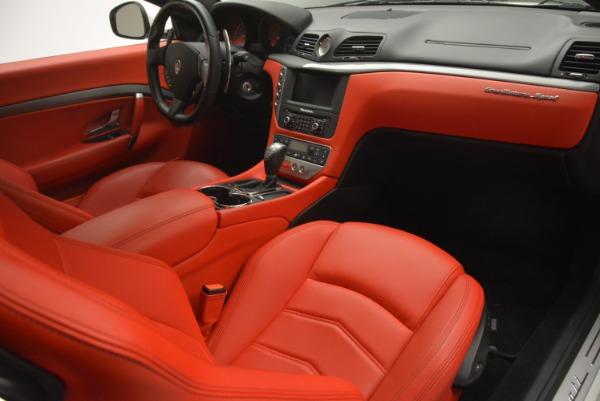 Used 2015 Maserati GranTurismo Sport for sale Sold at Alfa Romeo of Westport in Westport CT 06880 19