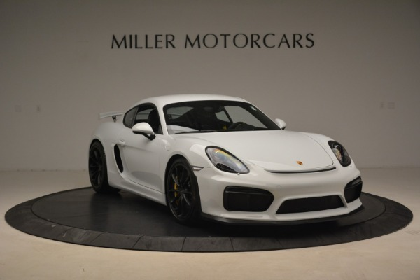 Used 2016 Porsche Cayman GT4 for sale Sold at Alfa Romeo of Westport in Westport CT 06880 11