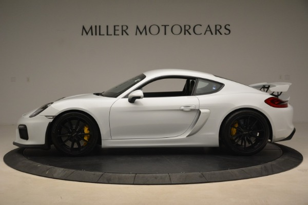 Used 2016 Porsche Cayman GT4 for sale Sold at Alfa Romeo of Westport in Westport CT 06880 3