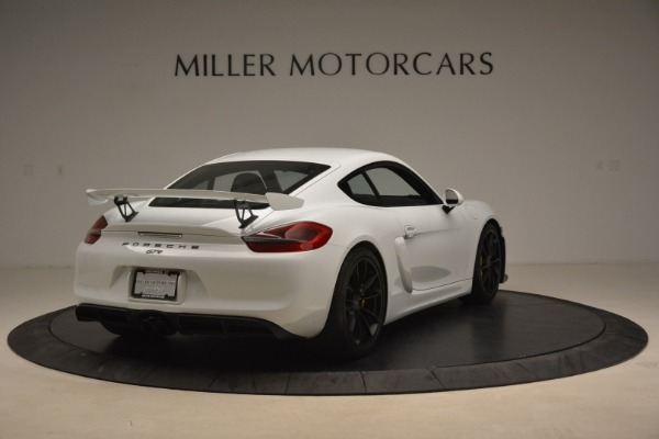 Used 2016 Porsche Cayman GT4 for sale Sold at Alfa Romeo of Westport in Westport CT 06880 7