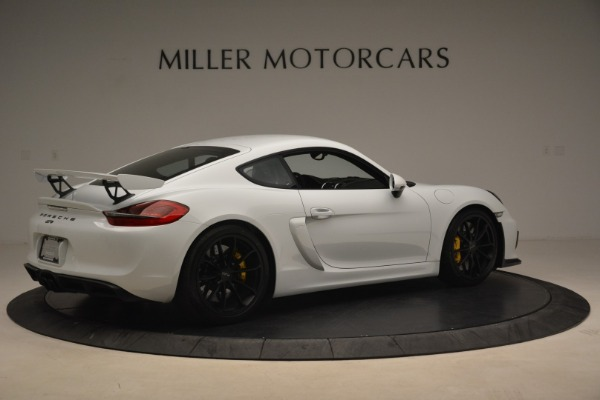 Used 2016 Porsche Cayman GT4 for sale Sold at Alfa Romeo of Westport in Westport CT 06880 8