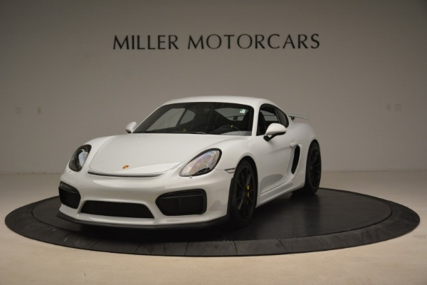 Used 2016 Porsche Cayman GT4 for sale Sold at Alfa Romeo of Westport in Westport CT 06880 1