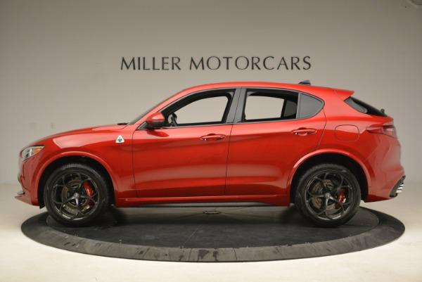 New 2018 Alfa Romeo Stelvio Quadrifoglio for sale Sold at Alfa Romeo of Westport in Westport CT 06880 3