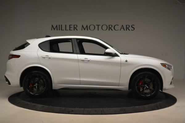 New 2018 Alfa Romeo Stelvio Quadrifoglio for sale Sold at Alfa Romeo of Westport in Westport CT 06880 10