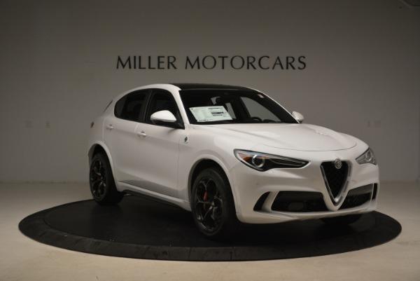 New 2018 Alfa Romeo Stelvio Quadrifoglio for sale Sold at Alfa Romeo of Westport in Westport CT 06880 12