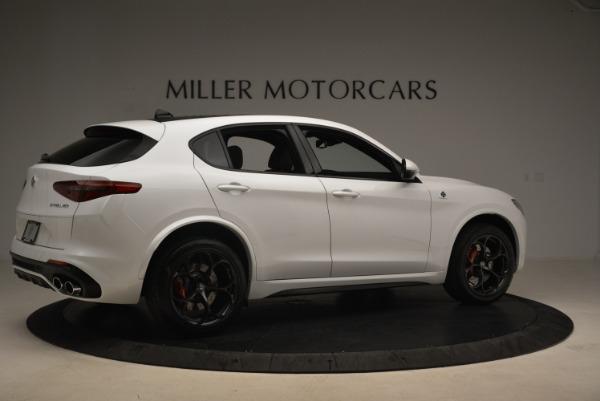 New 2018 Alfa Romeo Stelvio Quadrifoglio for sale Sold at Alfa Romeo of Westport in Westport CT 06880 8