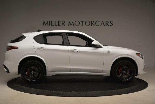 New 2018 Alfa Romeo Stelvio Quadrifoglio for sale Sold at Alfa Romeo of Westport in Westport CT 06880 9