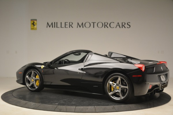 Used 2013 Ferrari 458 Spider for sale Sold at Alfa Romeo of Westport in Westport CT 06880 4