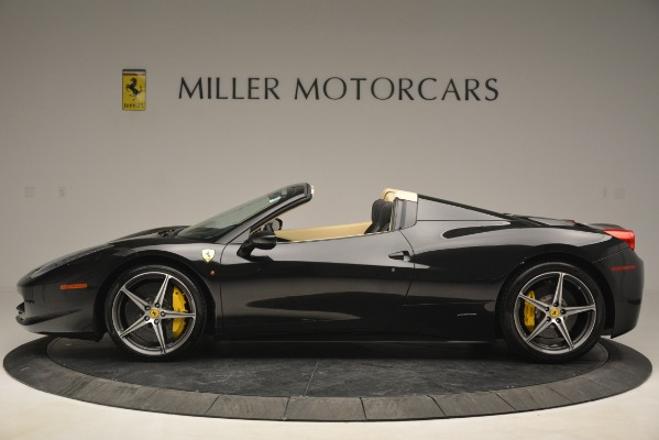 Used 2014 Ferrari 458 Spider for sale Sold at Alfa Romeo of Westport in Westport CT 06880 3