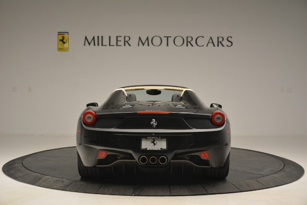 Used 2014 Ferrari 458 Spider for sale Sold at Alfa Romeo of Westport in Westport CT 06880 6