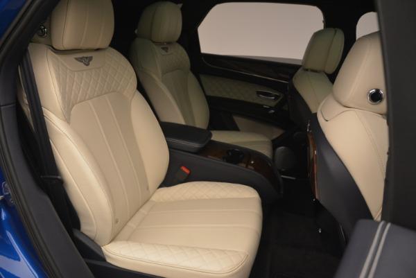 Used 2018 Bentley Bentayga W12 Signature for sale Sold at Alfa Romeo of Westport in Westport CT 06880 25
