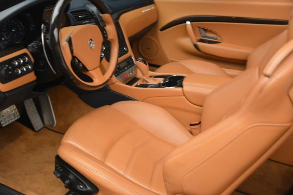 Used 2014 Maserati GranTurismo Sport for sale Sold at Alfa Romeo of Westport in Westport CT 06880 24