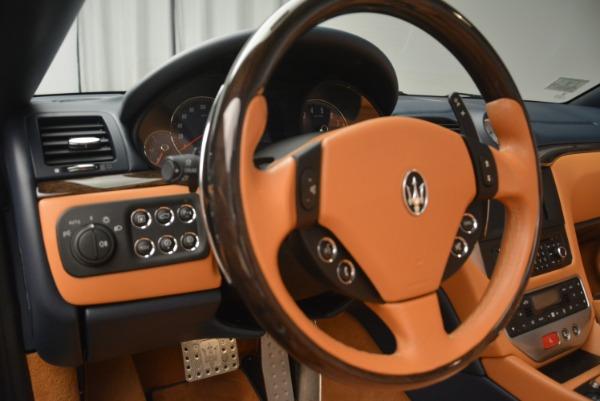 Used 2014 Maserati GranTurismo Sport for sale Sold at Alfa Romeo of Westport in Westport CT 06880 26