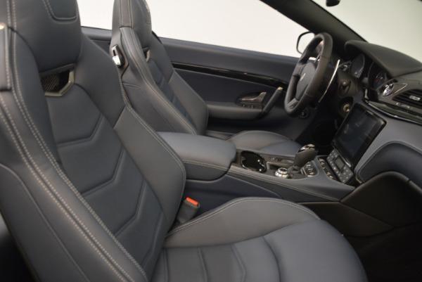 New 2018 Maserati GranTurismo Sport Convertible for sale Sold at Alfa Romeo of Westport in Westport CT 06880 23